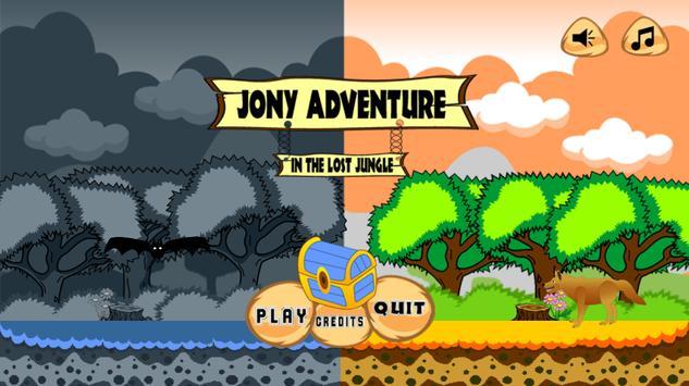 Jony Adventure In The Lost Jungle poster