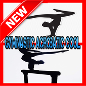 Gymnastic Acrobatic Cool icon