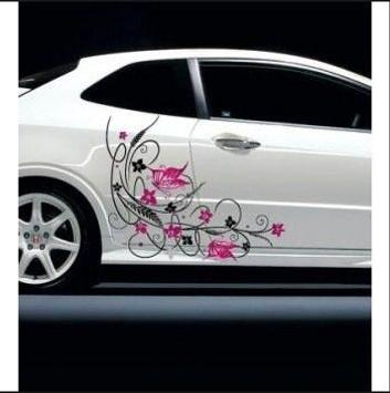 Design sticker car poster