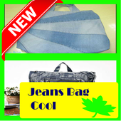 Jeans Bag Cool icon