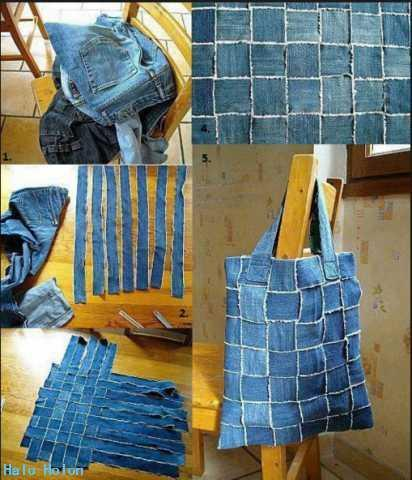 Jeans Bag Cool poster
