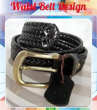 Waist Belt Design poster
