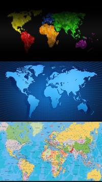 World map. Live wallpapers screenshot 2