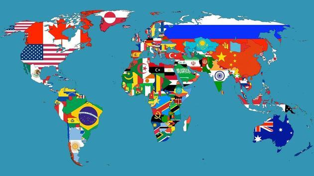 World map. Live wallpapers screenshot 3