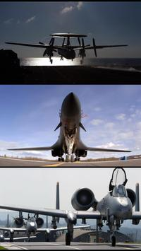 Airplanes. Military wallpapers poster