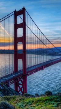 Golden Gate. Bridges Wallpaper poster