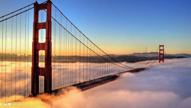 Golden Gate. Bridges Wallpaper apk screenshot