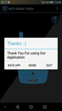 Wifi Walkie Talkie 2016 screenshot 3