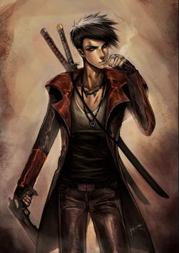Fan Art Dante Wallpaper DMC poster