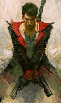 Fan Art Dante Wallpaper DMC screenshot 3