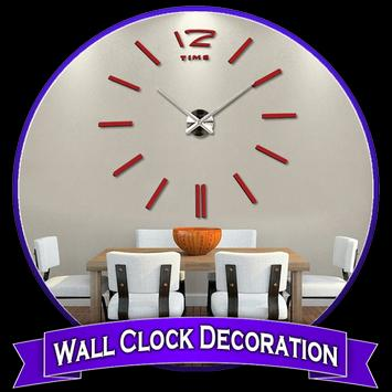 Wall Clock Decoration poster