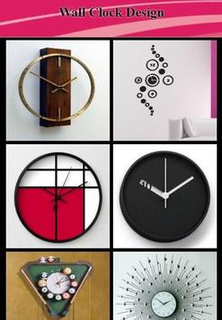 Wall Clock Design poster