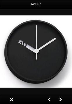 Wall Clock Design apk screenshot