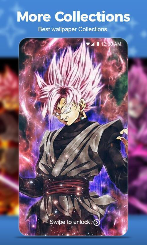 Black Goku Rose Super Saiyan Wallpaper Für Android Apk