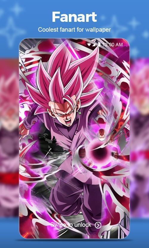 Black Goku Rose Super Saiyan Wallpaper For Android Apk