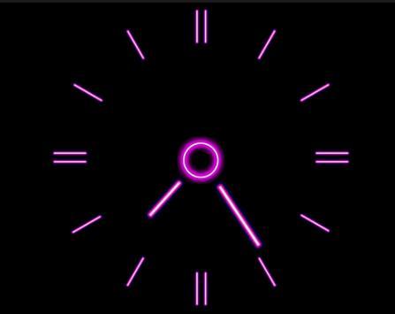 Wallpaper Clock screenshot 3