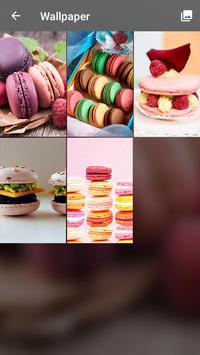 Sweet Macarons HD Wallpapers Security Pattern Lock screenshot 3