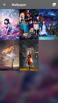 Alice Mirrors Wonder Land PIN Pattern Lock Screen screenshot 3
