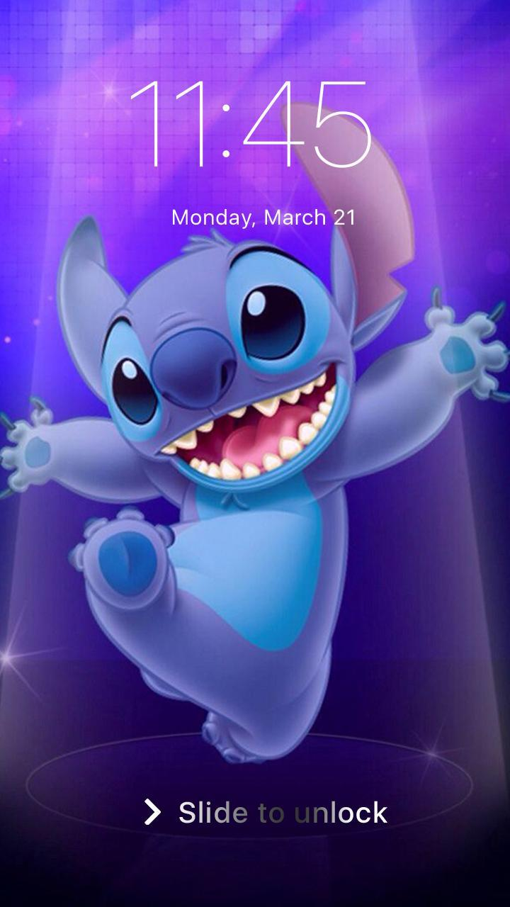 Stitch Wallpaper Lilo Funny Cute Pin Lock Screen For Android Apk Download