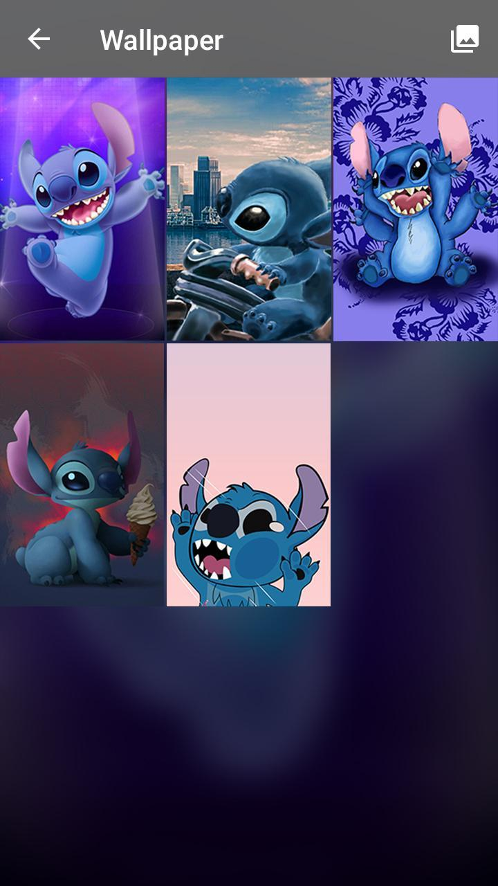 Stitch Wallpaper Lilo Funny Cute Pin Lock Screen For Android