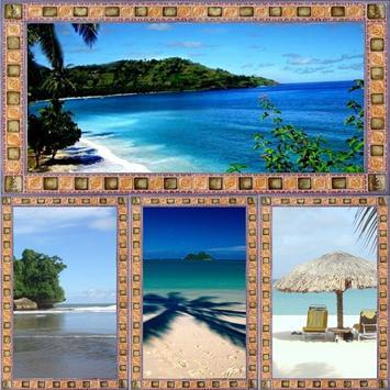 Wallpaper Beach poster