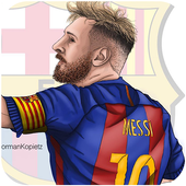 Lionel Messi Full HD Wallpapers icon