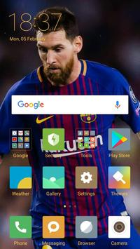 Lionel Messi Full HD Wallpapers poster