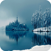 Frozen Lake Wallpaper icon