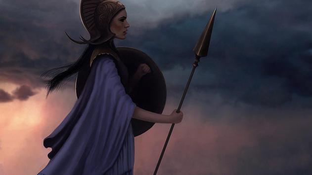 Athena Live Wallpaper poster