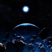 Asteroids Live Wallpaper icon