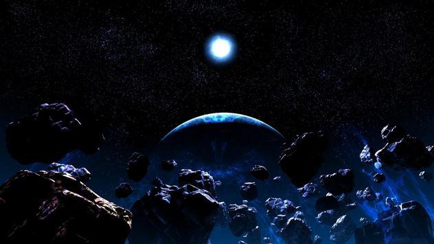 Asteroids Live Wallpaper apk screenshot