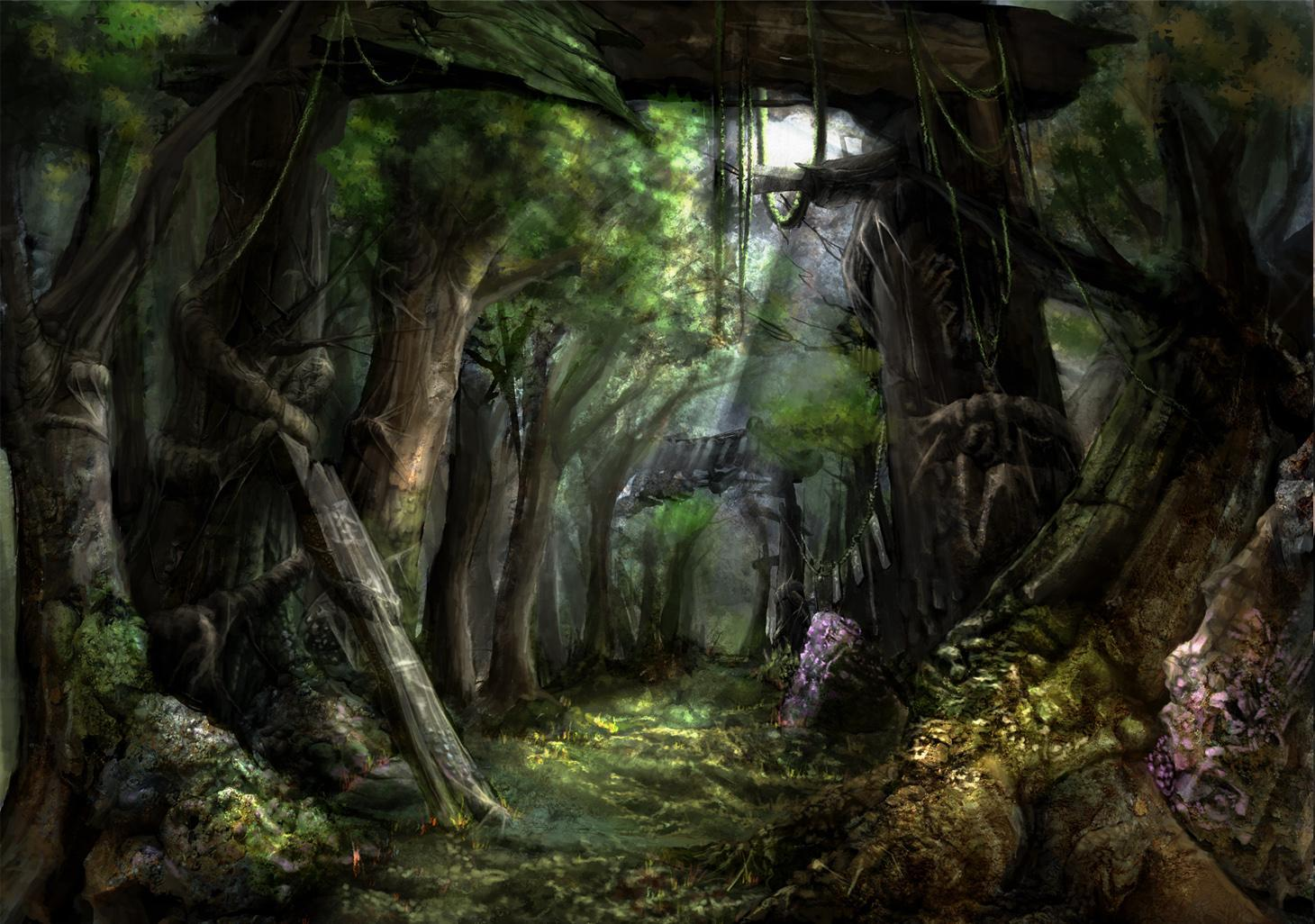 Fantasy Forest Wallpaper For Android Apk Download