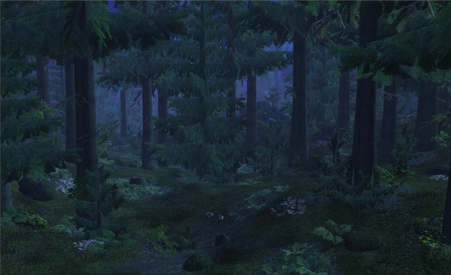 Forest Night Live Wallpaper Para Android Apk Baixar