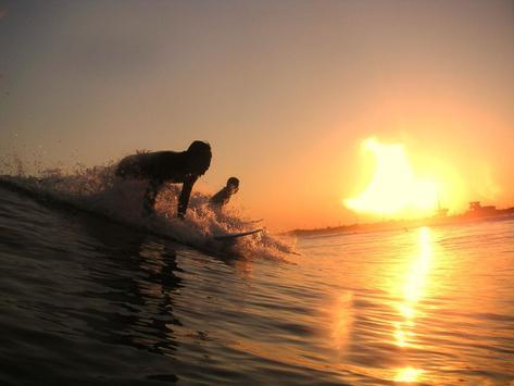 Sunset Surf Live Wallpaper screenshot 1