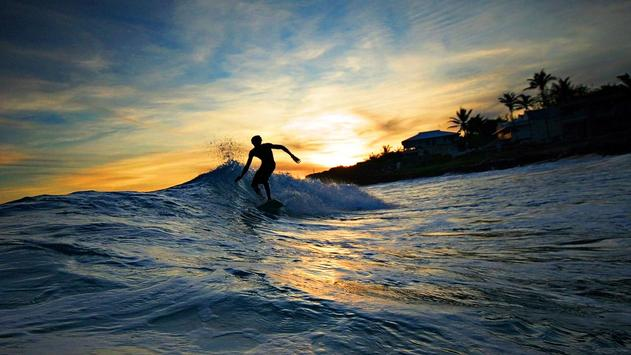 Sunset Surf Live Wallpaper screenshot 2