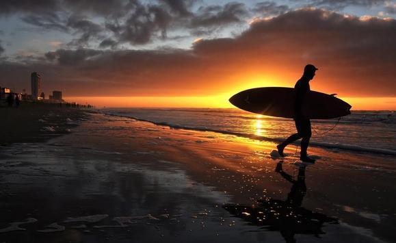 Sunset Surf Live Wallpaper screenshot 3