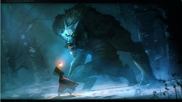 Werewolf HD Live Wallpaper apk screenshot