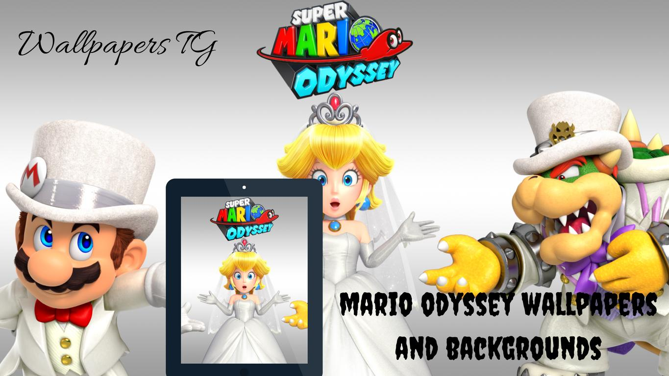 Mario Odyssey Wallpapers And Backgrounds For Android Apk