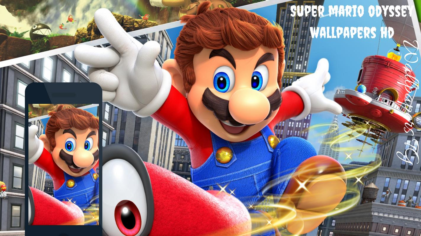 Mario Odyssey Wallpapers Hd For Android Apk Download