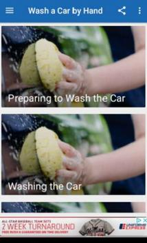 Wash a Car by Hand poster