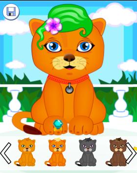 Wash Cats Games For Kids apk screenshot