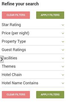 Washington Hotels Deals screenshot 1