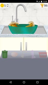 washing dishes clean game poster