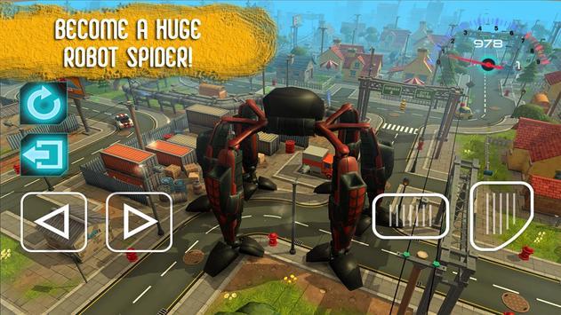 War Spider: Hero Robots apk screenshot