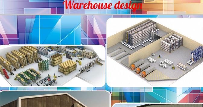 Warehouse design poster