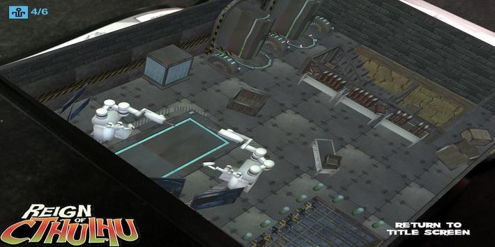 Reign of Cthulhu AR Comic screenshot 4