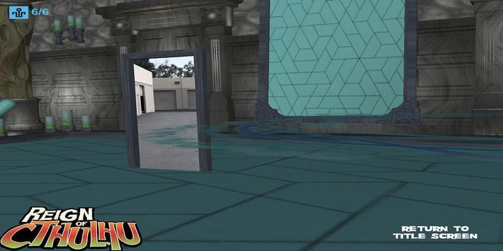 Reign of Cthulhu AR Comic screenshot 5