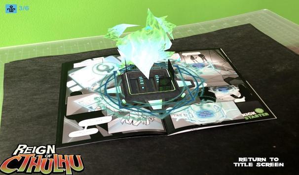 Reign of Cthulhu AR Comic screenshot 15