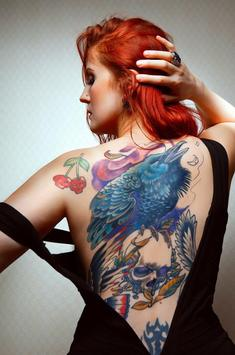 Girl with Tatto Wallpaper apk screenshot