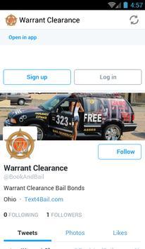 City Bonding™ Warrant Clearance™ Bail Bonds poster